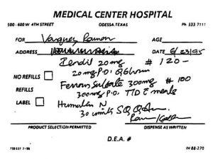 Prescription Orders 2